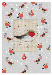 Postcard robin