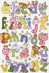 Samplers - My first alphabet