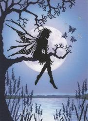 Lavina stamps'fairies - luna