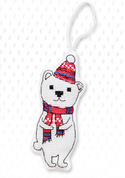 Hanger polar bear
