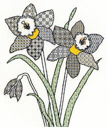 Blackwork - Daffodil