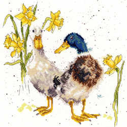 Hannah Dale - Ducks and daffs