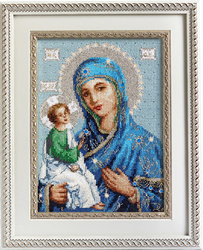 Icon of the mother of god in Jeruzalem