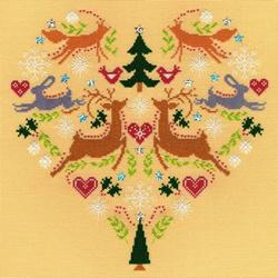 Christmas - Scandi heart