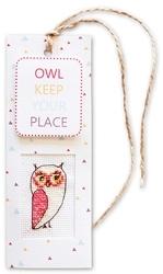 Boekenlegger owl keep your place