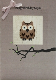 Postcard owl