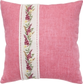 cushion flowers pink