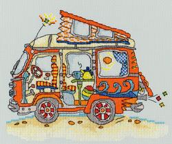 Sew Dinky - VW van