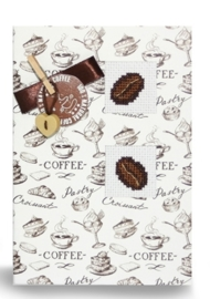Postcard coffee beans