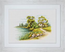 Landscape with a lake