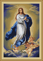 Immaculate conception by murillo B.E.