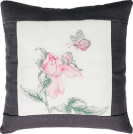 cushion flower dark