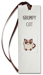 boekenlegger Grumpy kat