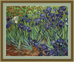 Irises, reproduction of van Gogh