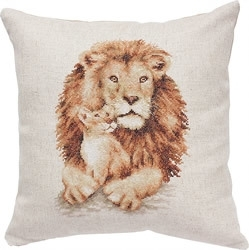 Cushion lion