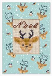 Postcard reindeer