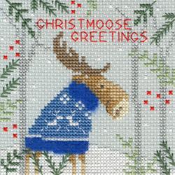Christmas cards - Xmas Moose
