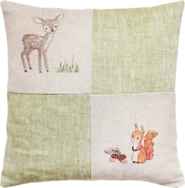 cushion deer & squirrel