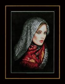 Gesluierde vrouw