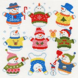 Slighty Dotty -  snowmen