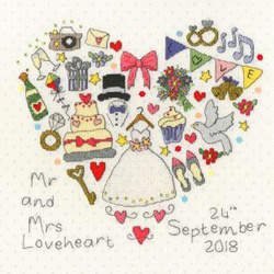 Wedding samplers - the big day