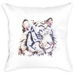 Cushion white tiger