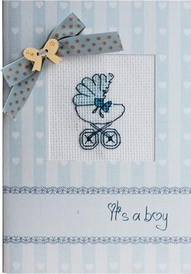 Postcard it's a boy