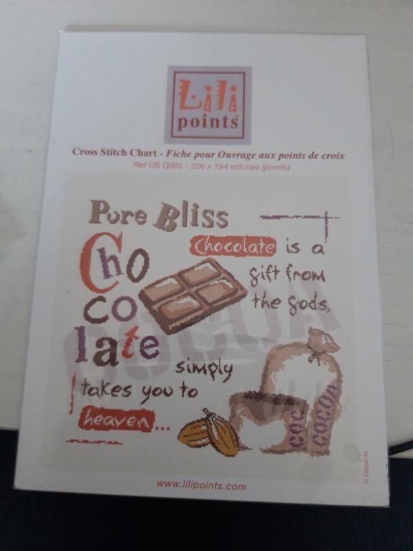 Lili points chocolate