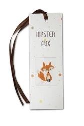 Boekenlegger hipster  fox
