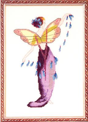LavenderVouwblad met 1 patroon Afmeting: 99 x 160 kruisjes = 15,7 x 25,4 cm op 12,6 draads stof  Artikelnummer: md-nc136  Trefwoorden: