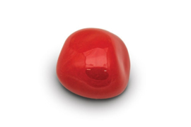 Knuffelkeitje KK 003, rood glanzend.