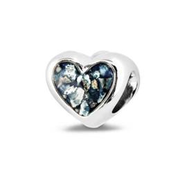804 S Zilveren hart bedel.