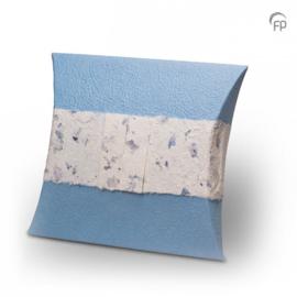 ZU002 - Biologisch Afbreekbare Eco Urn Blauw