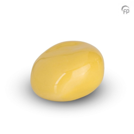 Knuffelkeitje KK 019, geel glanzend.