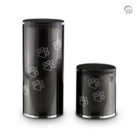 Kristalglazen Dierenurn GUP082 (medium)