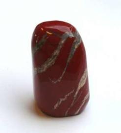 Edel-gedenk-steen Jaspis rood
