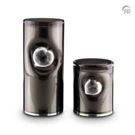 Kristalglazen Cilinder Urn GUP 052M (1.0 liter)
