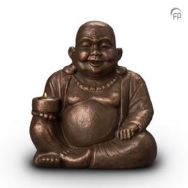Boeddha met waxinelichthouder