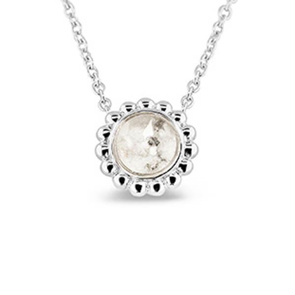 Zilveren hanger, inclusief collier. 130 S Zilver