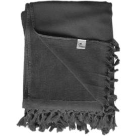 Hammam towel terry - Dark Grey - 98x210cm