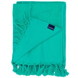 Hammam towel Terry - Emerald Green - 98x210cm (LANTARA)