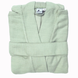 Bathrobe Herringbone - Old Mint