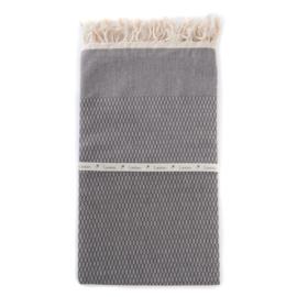 Tweed - Donkergrijs 100x180cm