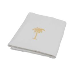 Hamamdoek badstof Palmtree - Wit - 98x190cm