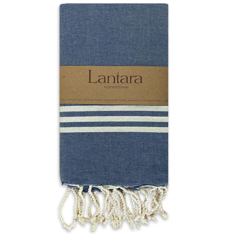 Provence - Jeansblauw - 100X200cm