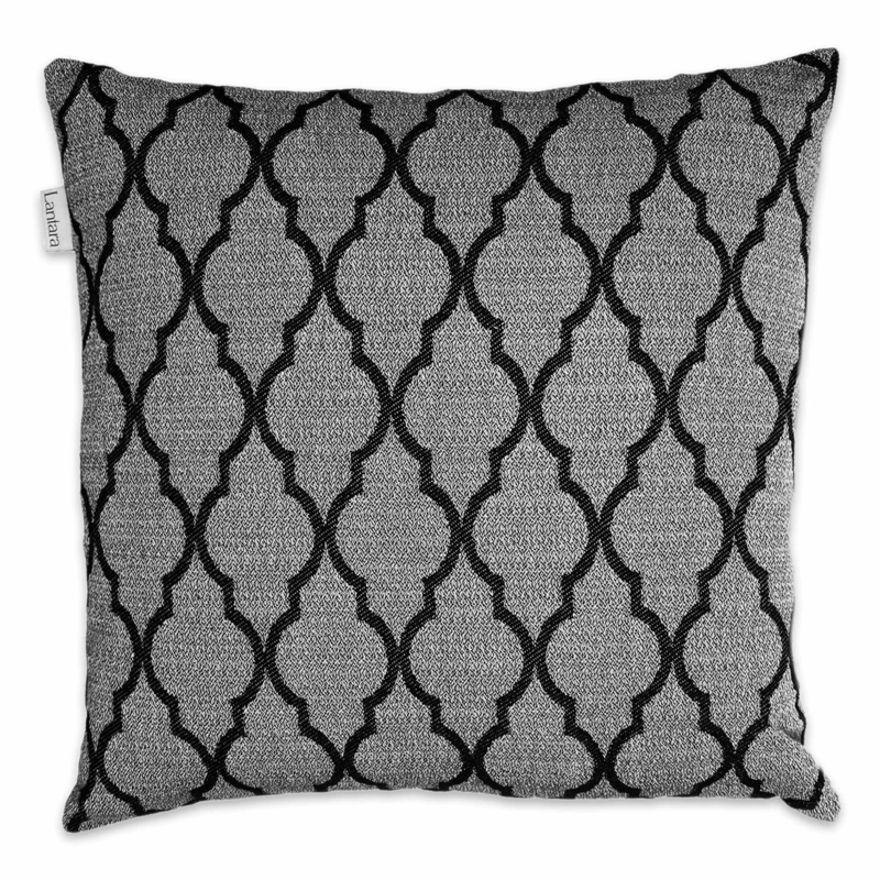 Cushion Arabesque - Black - 50x50cm