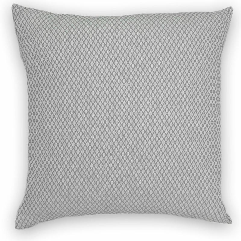 Cushion Ottoman - Grey - 50x50cm