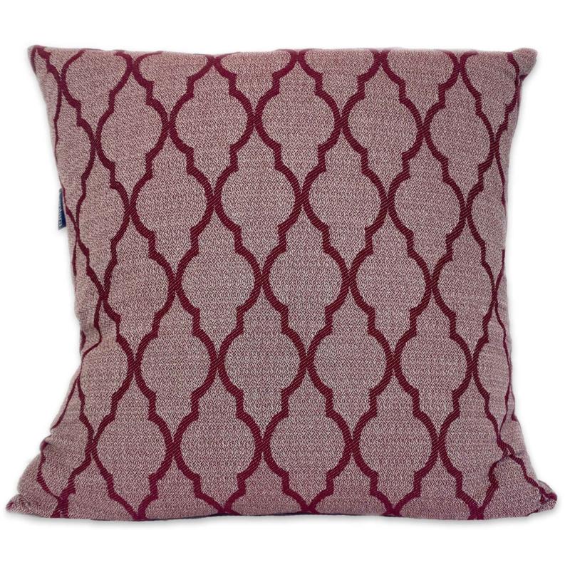 Cushion Arabesque - Dark red - 55x55cm