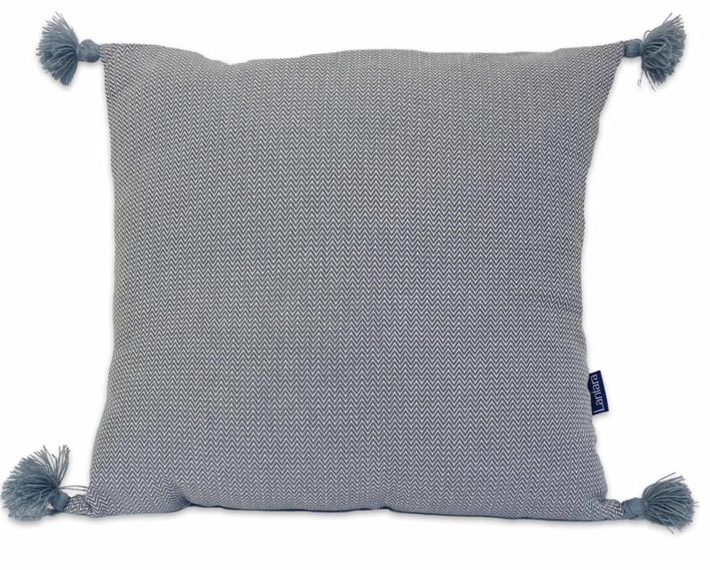 Cushion Pompons - Grey - 55x55cm