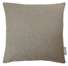 296 Kussen Boucle Taupe 50x50